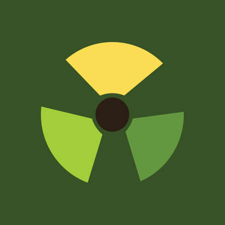 radioactive symbol: