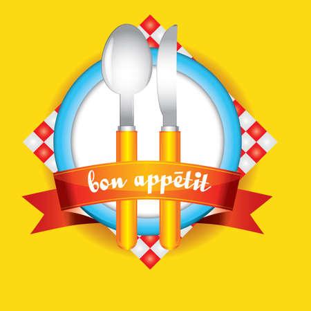 bon: Bon appetit sticker