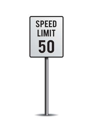 motorists: Speed limit sign