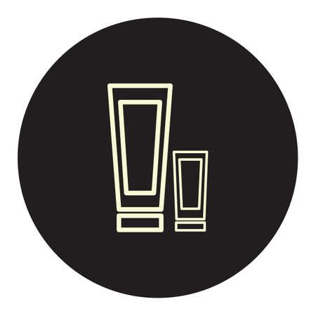 moisturizing: Sunscreen lotion Illustration