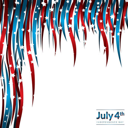 USA independence day design Illustration