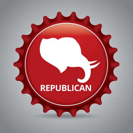 Republican badge