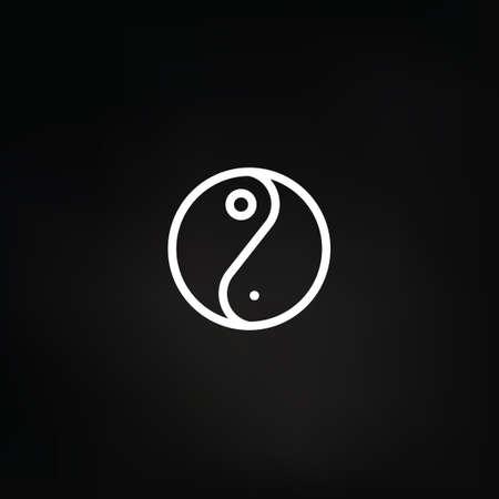 lightweight: Yin and Yang Illustration
