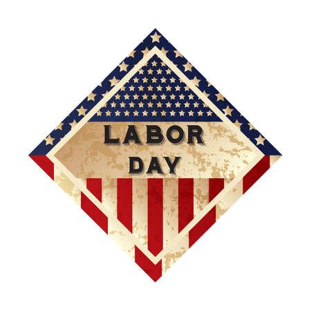 労働者の日ラベル