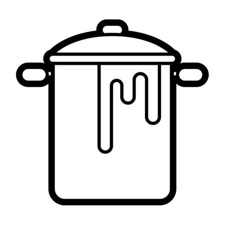 curry: Curry spilling out of cooking pot