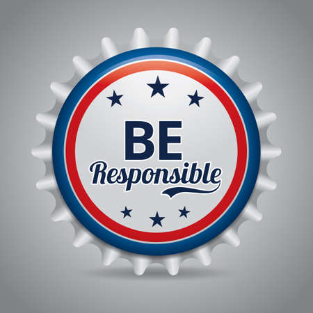 to be: Be responsible badge