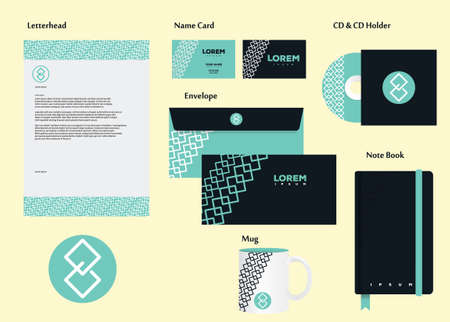 personalausweis: Corporate Identity Illustration