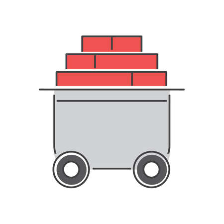 moveable: Bricks trolley