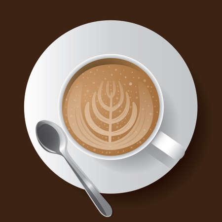 latte: Cup of latte