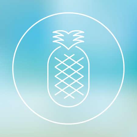 basic food: Pineapple