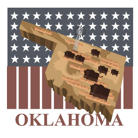 oklahoma: Oklahoma state map