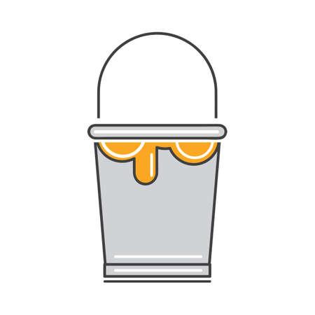 bucket: Paint bucket