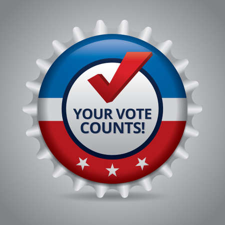 counts: Your vote counts badge