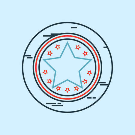 token: Star token Illustration