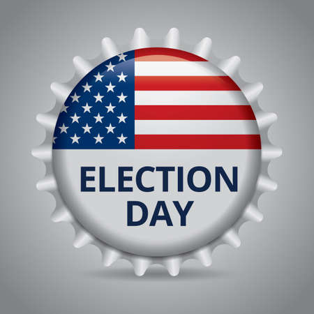 election day: Election day badge