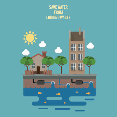 lodging: Save water from lodging waste
