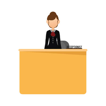 receptionist: Receptionist at the desk