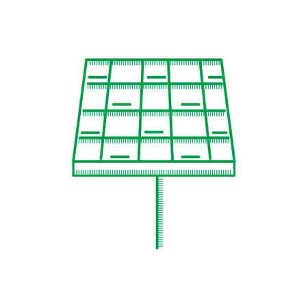 regenerate: Solarpanel Illustration