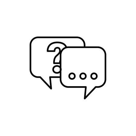questionmark: Speechbubbles