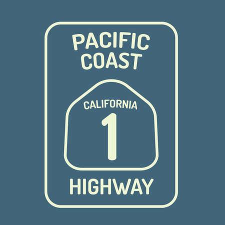 고속도로: California highway route sign