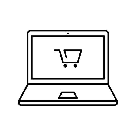 shoppingcarts: Laptopwithshoppingcart