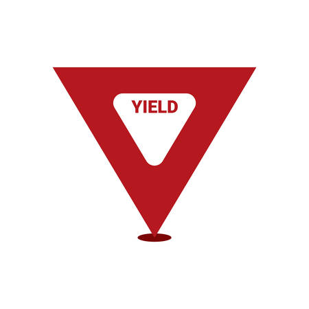 yield sign: Yield sign