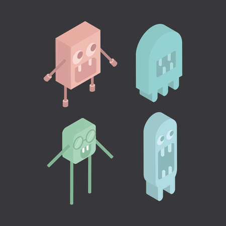 bot: Isometric characters