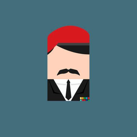 comandante: Militaryofficer Vettoriali