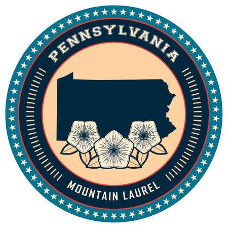 laurel mountain: Pennsylvania state label