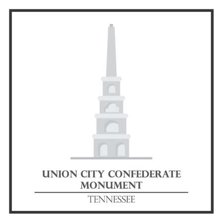 monument: Union city confederate monument