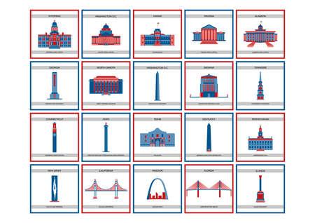 pennsylvania: CollectionofUSAstatemonuments