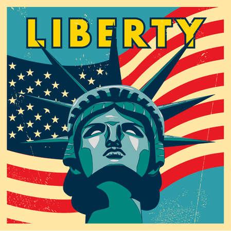 Liberty design Illustration