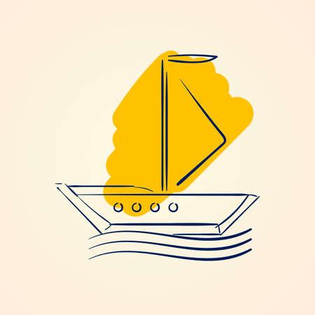 sailingboat: Sailboat Illustration