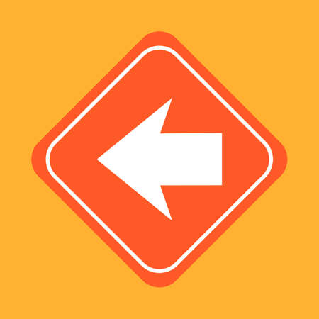 roadsigns: Large arrow sign