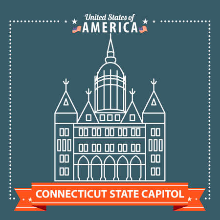 connecticut: Connecticut state capitol