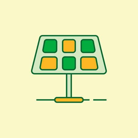 solarpanel: Solarpanel Illustration