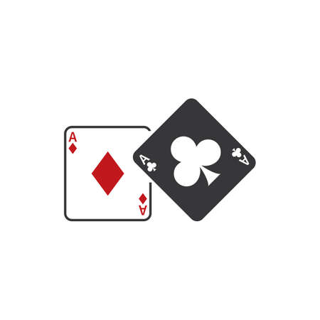 aces: Two aces playing cards