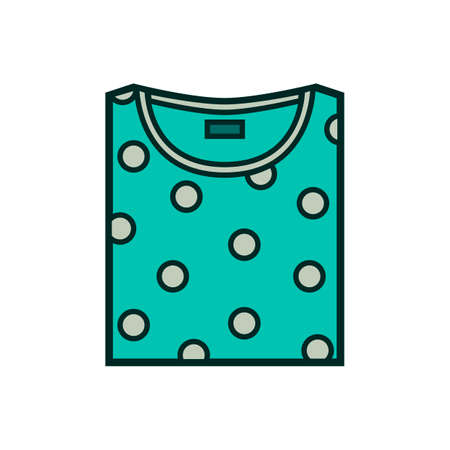 folded clothes: Shirt