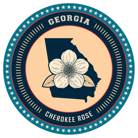 cherokee: Georgia state label