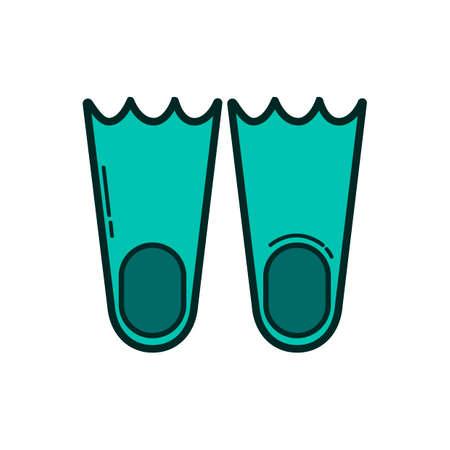 schwimmflossen: Flippers