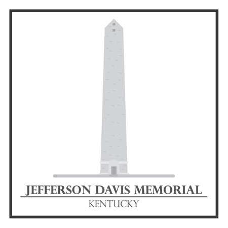 jefferson: Jefferson Davis Memorial Illustration