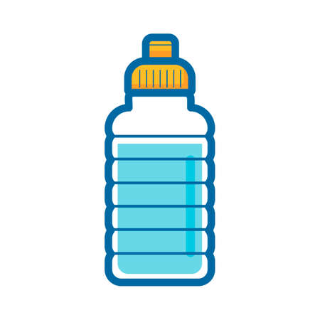 quench: Waterbottle Illustration