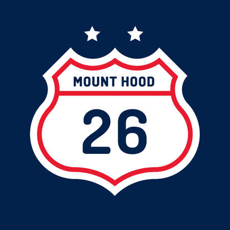 twenty six: Route 26 mount hood