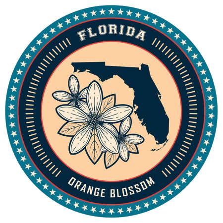 florida state: Florida state label