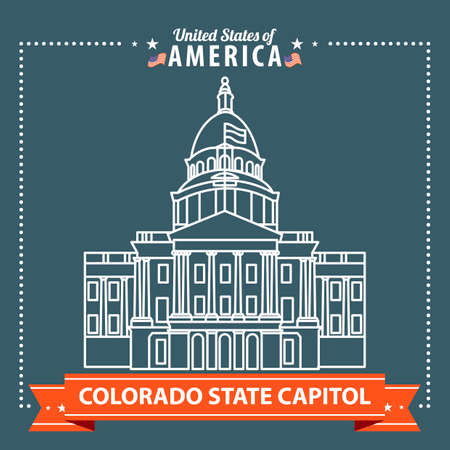 state of colorado: Colorado state capitol
