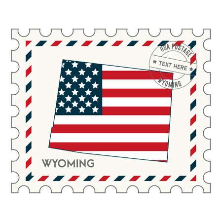 philately: Wyomingpostagestamp