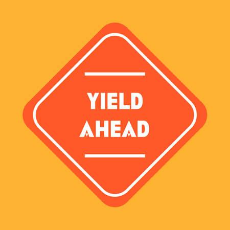 yield: Yield ahead sign