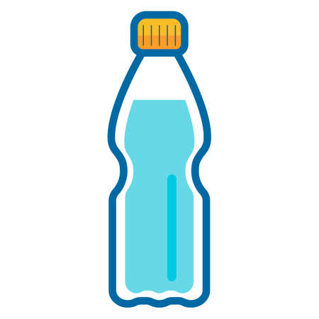 thirsty: Waterbottle Illustration
