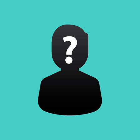 question mark: Electioncandidatewithquestionmark