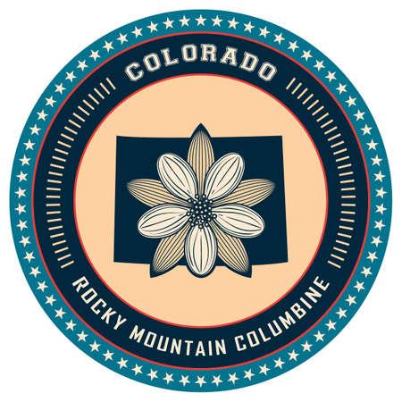 Colorado state label